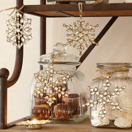 Weihnachtsschmuck 4er-Set Gaillon