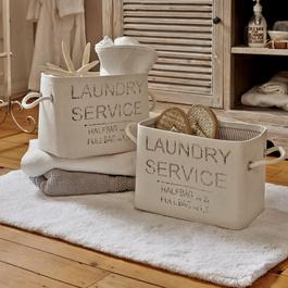 Körbe 2er-Set Laundry