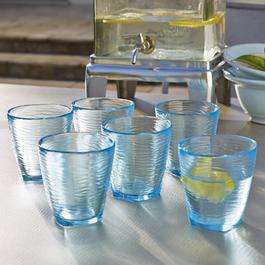 Gläser 6er Set Bluebell