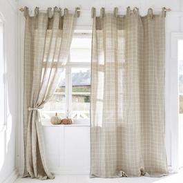 gardinen vorh nge im vintage landhausstil loberon. Black Bedroom Furniture Sets. Home Design Ideas