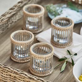 Windlichter & Kerzenständer aus Glas, Holz & Metall   LOBERON