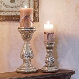Kerzenständer 2er-Set Lysiane