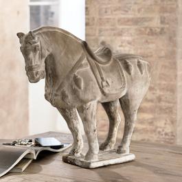 Deko-Pferd dresser un cheva