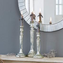 Kerzenständer 3er Set Riley