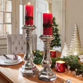 Kerzenständer 2er Set Esvandira