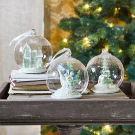 Weihnachtsschmuck 3er Set Winterland