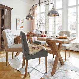 Tisch Covington braun