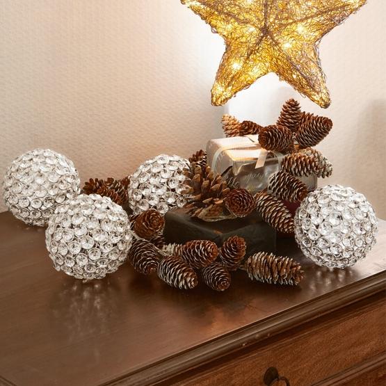 Weihnachtsschmuck 4er-Set Jewell