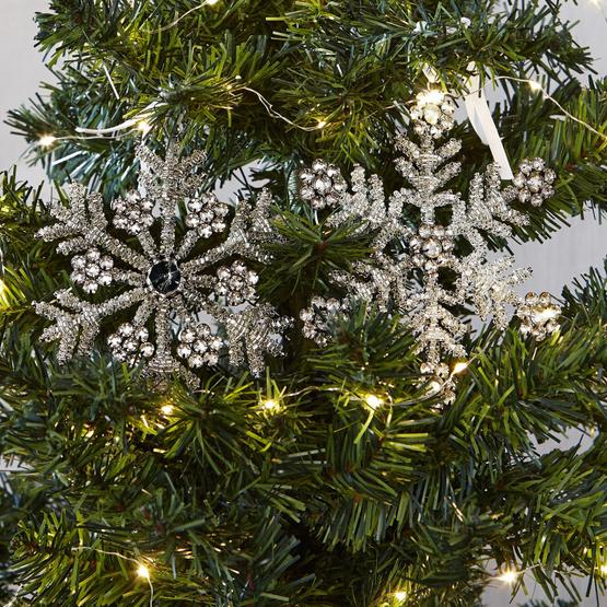 Weihnachtsschmuck 2er-Set Frozes