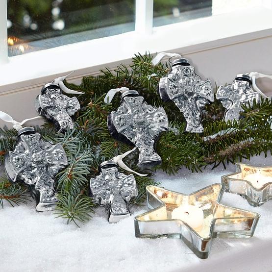 Weihnachtsschmuck 6er-Set Marcilly