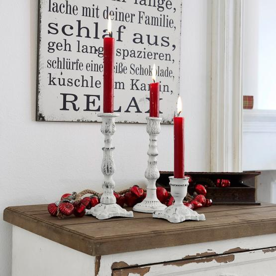 Kerzenständer 3er Set Blanchette