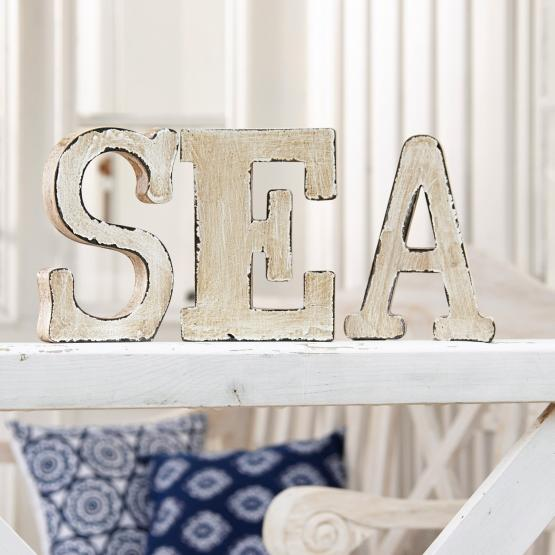 deko buchstaben marine loberon coming home. Black Bedroom Furniture Sets. Home Design Ideas