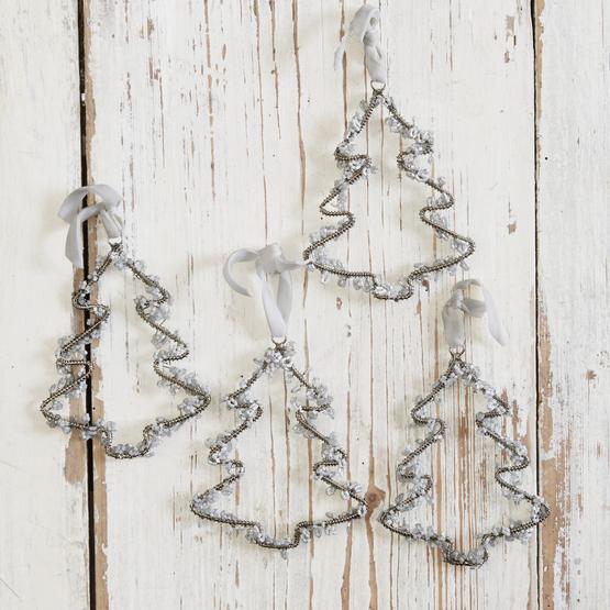 Weihnachtsschmuck 4er Set Hemlok