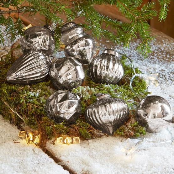 Weihnachtsschmuck 8er Set Plouyé