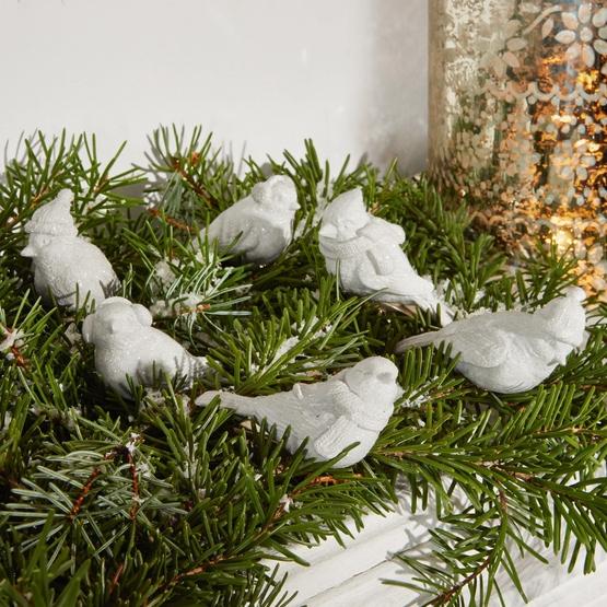 Deko-Vögel 6er Set Birdies