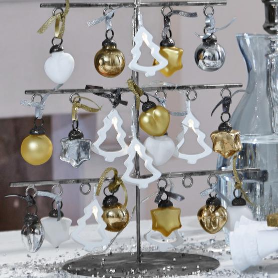 Weihnachtsschmuck 24er Set Vanity