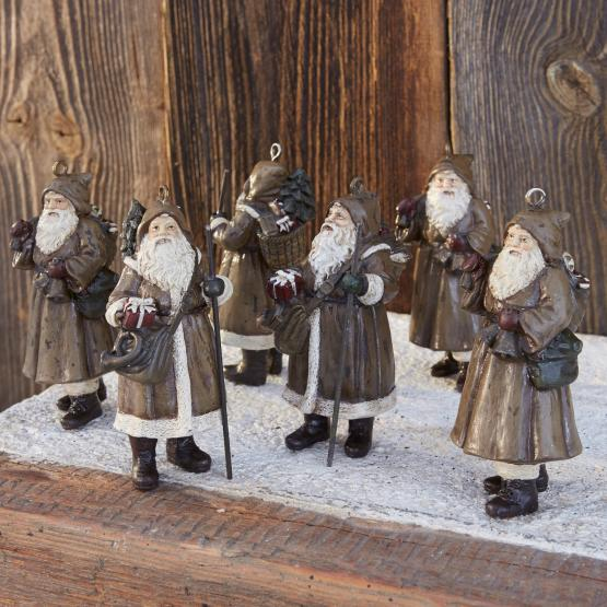 Weihnachtsmann 6er-Set Jock