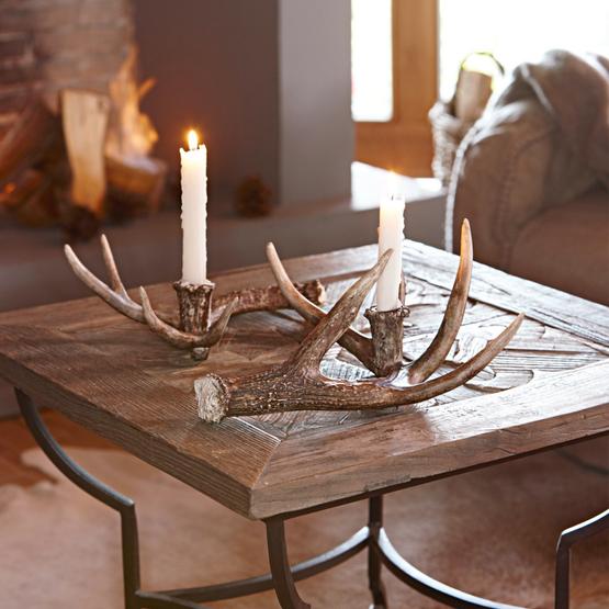 Kerzenhalter 2er-Set Horm