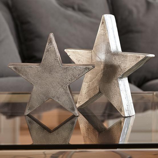 Deko-Sterne 2er-Set Big Star