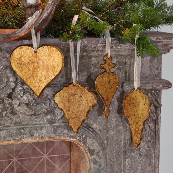 Weihnachtsschmuck 4er Set Molinot