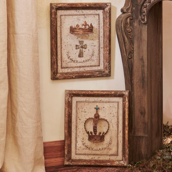 Bilder 2er-Set Holy Crown