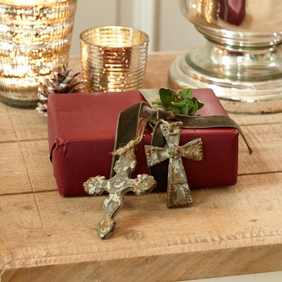Ornamente 4er Set Cruxes
