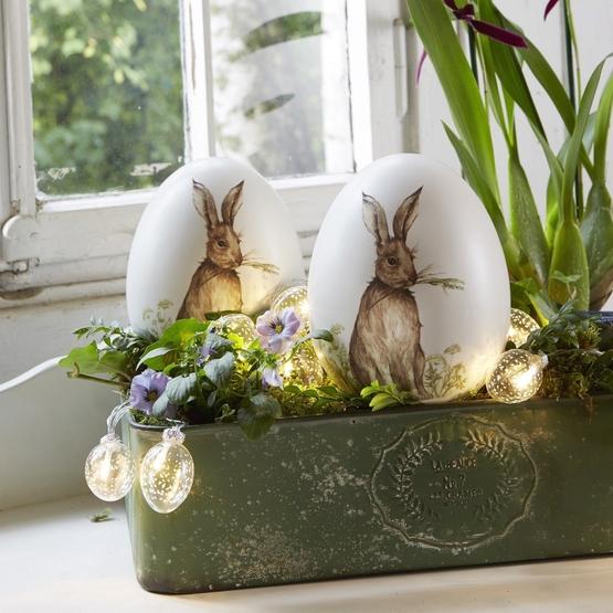 Handbemalte Vintage-Eier