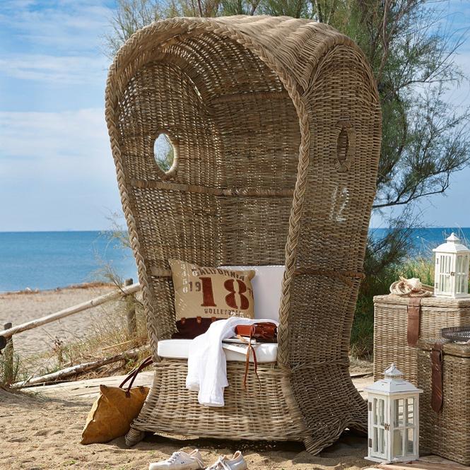 Strandkorb Cliffwood Beach