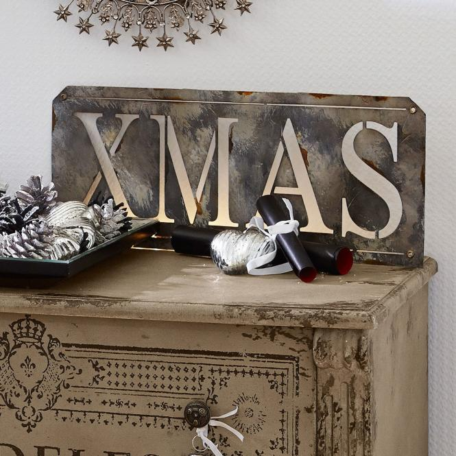 Deko-Schild Christmas