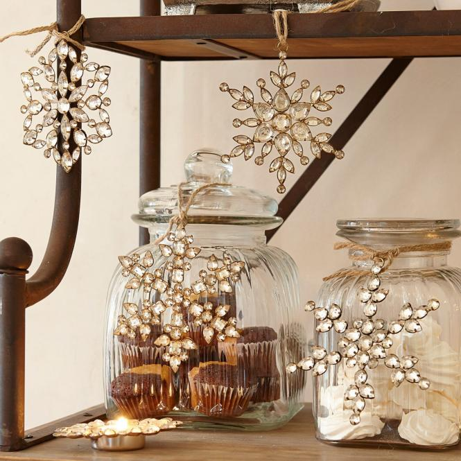 weihnachtsschmuck 4er set gaillon loberon coming home. Black Bedroom Furniture Sets. Home Design Ideas