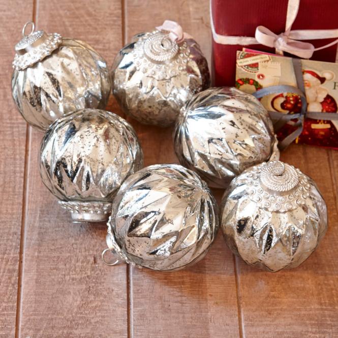 Weihnachtsschmuck 6er-Set Ravoire