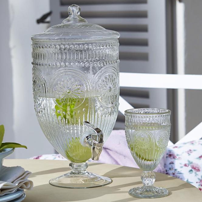 Getränkespender Mercure | Küche und Esszimmer > Besteck und Geschirr > Karaffen | Klar | Glas -  zapfhahn: kunststoff | LOBERON