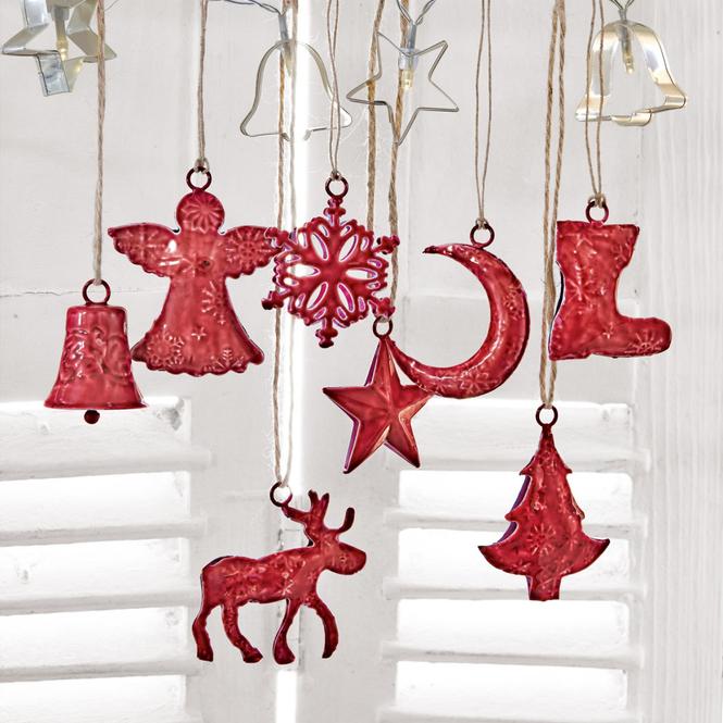 Weihnachtsschmuck 8er-Set Rudy & Co.