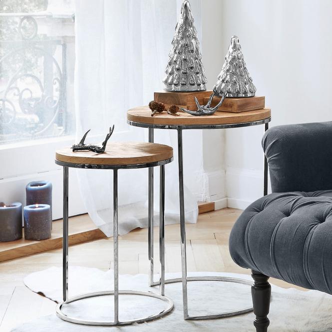 beistelltisch 2er set cordell loberon coming home. Black Bedroom Furniture Sets. Home Design Ideas