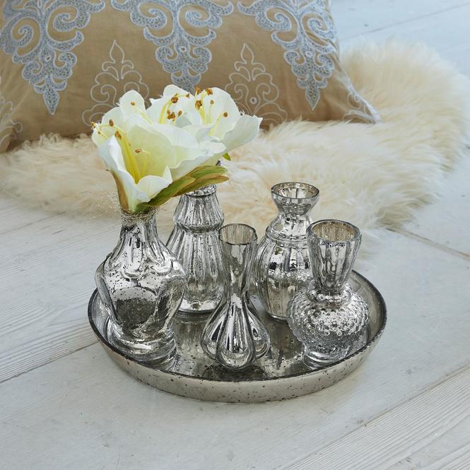 Tablett mit Vasen Eleonoire