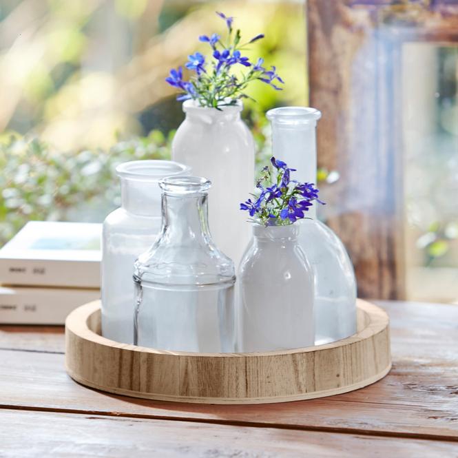 Tablett mit Vasen Edeline