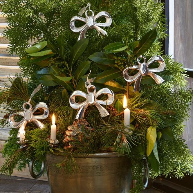 Weihnachtsschmuck 4er Set Paisley