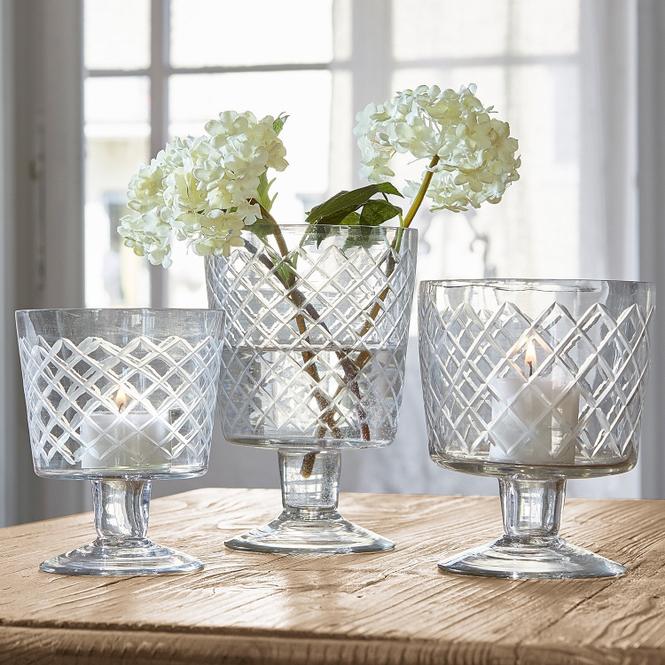 Vase 3er Set Léogeats | Dekoration > Vasen | Klar | Glas | LOBERON