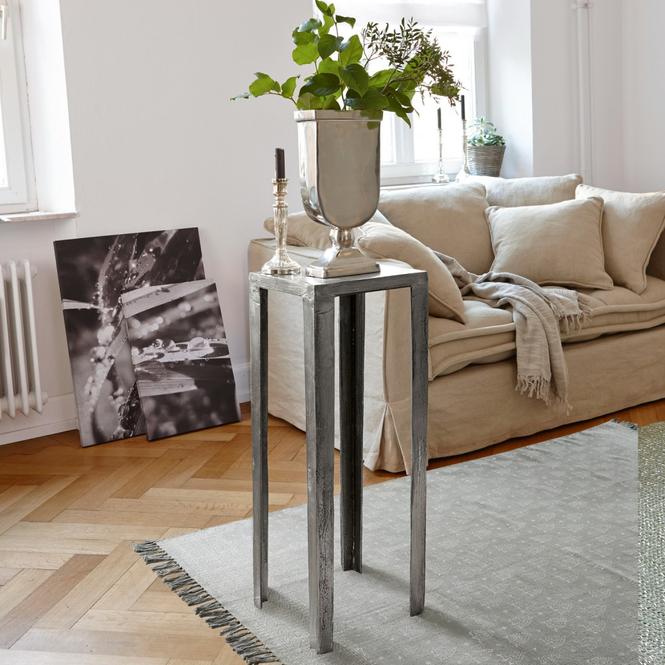 Beistelltisch antik silber  antiksilber-aluminium Beistelltische online kaufen | Möbel ...