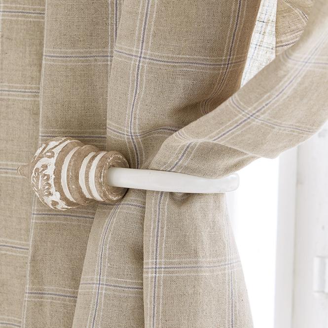 vorhanghalter 2er set talon landhaus look. Black Bedroom Furniture Sets. Home Design Ideas