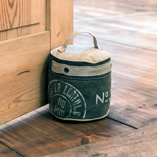 Türstopper au Puy   Dekoration > Accessoires   Khaki   Bezug: 100% baumwolle -  füllung: sand -  polyester   LOBERON