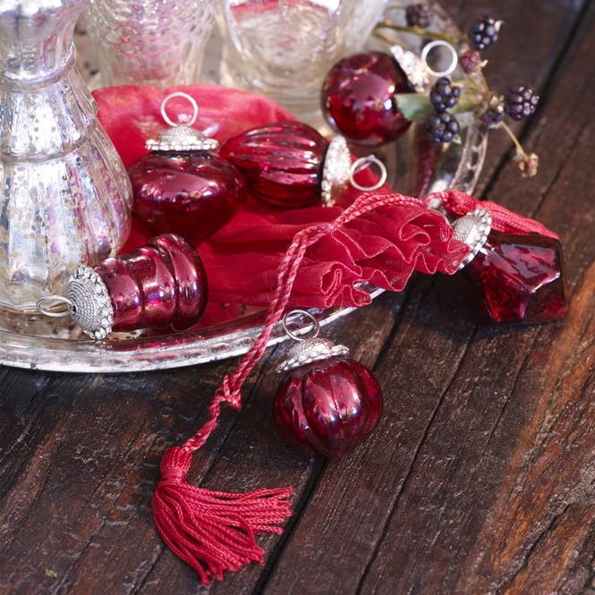 Weihnachtsschmuck 6er-Set Levier