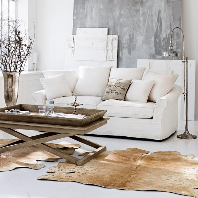 Wohnzimmer im skandinavischen stil einrichten hell und for Sofa italienisch