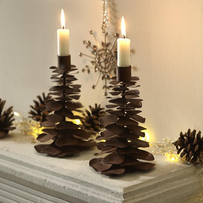 Kerzenständer 2er Set Teagan