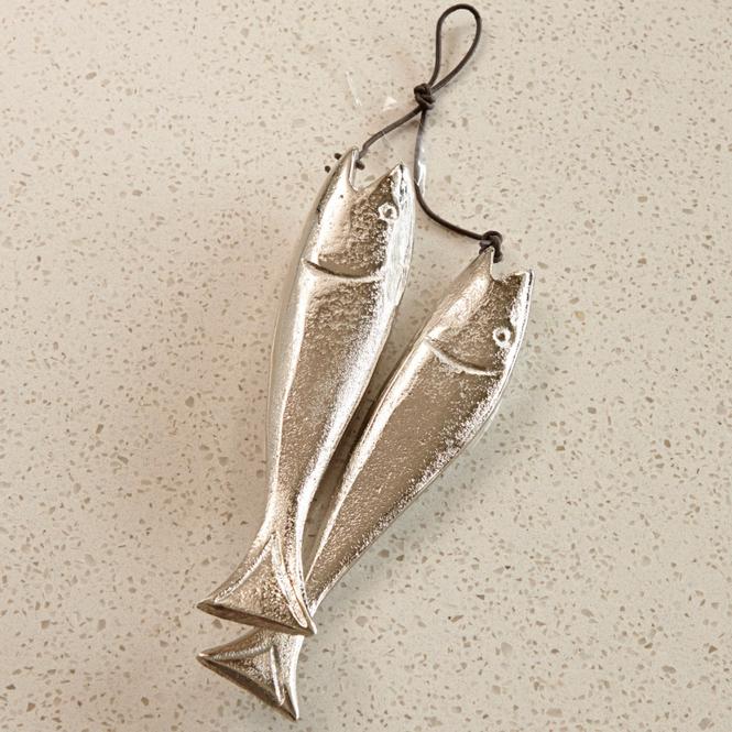 Deko-Fische 2er-Set Sardine's