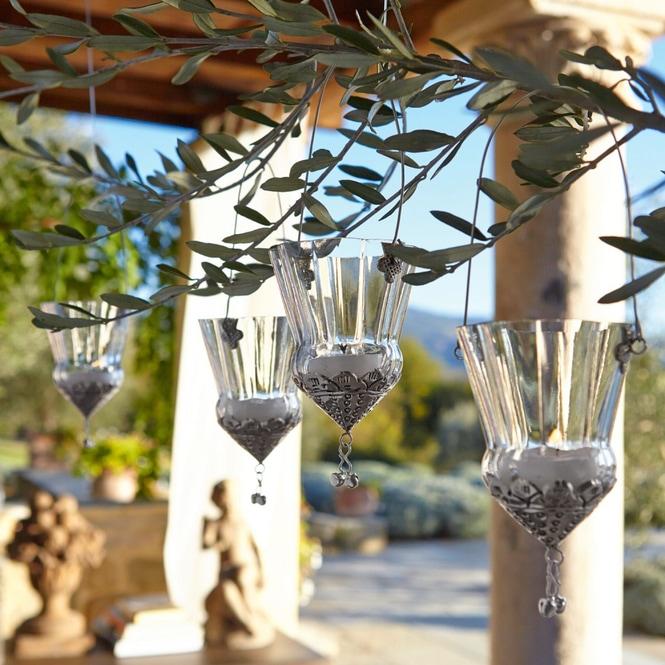 """Windlicht """"Timma"""" aus Glas, transparent, 4er-Set (Kopie) Loberon"""