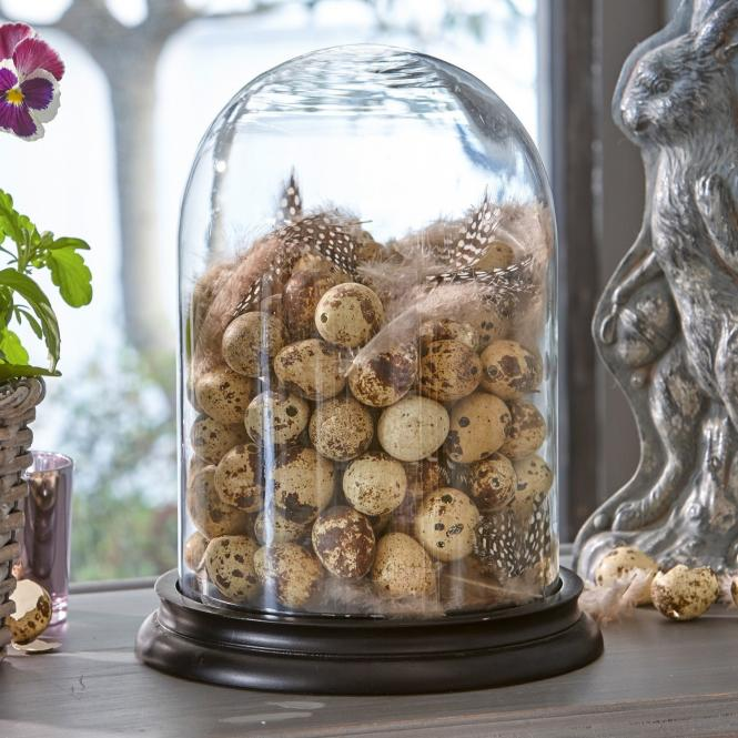Wachteleier - kleine natürliche Kunstwerke für die Osterdeko