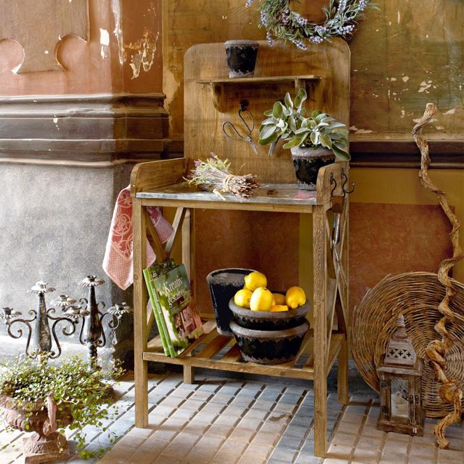 Pflanztisch Woodbridge   Dekoration > Dekopflanzen > Blumenständer   LOBERON DE