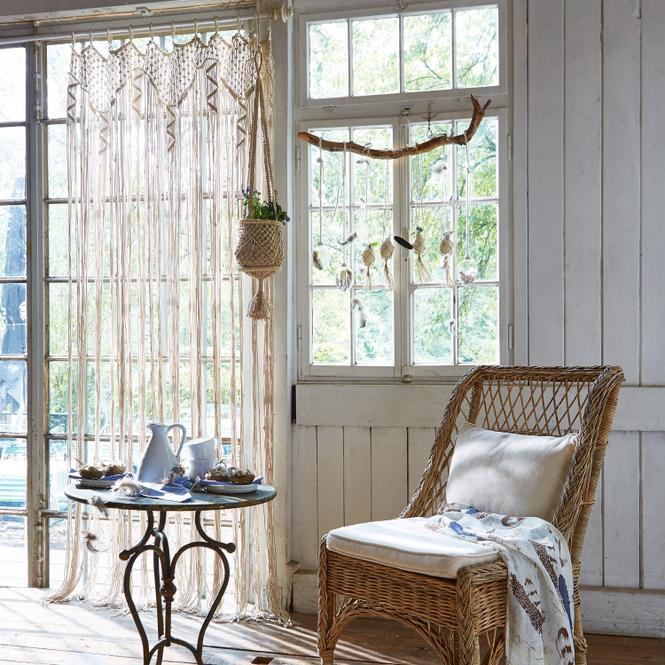 Gardine Dounia | Heimtextilien > Gardinen und Vorhänge | Creme | 100% baumwolle | Accessoires | Textilien | Vorhänge & Gardinen