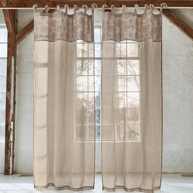 Gardine Elysabeth | Heimtextilien > Gardinen und Vorhänge > Gardinen | Leinen | 100% leinen | Accessoires | Textilien | Vorhänge & Gardinen